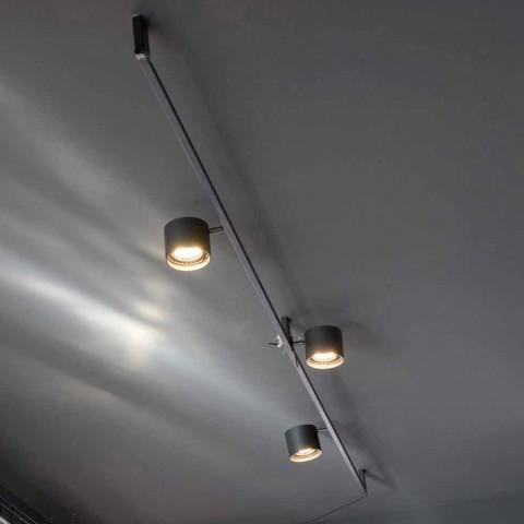 Artisan Design-ljuskrona med 3 justerbara lampor tillverkad i Italien - Pamplona