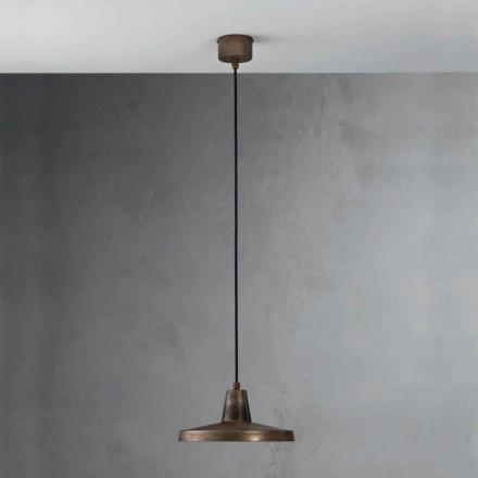 Industriell design stil ljuskrona Monica antik järn