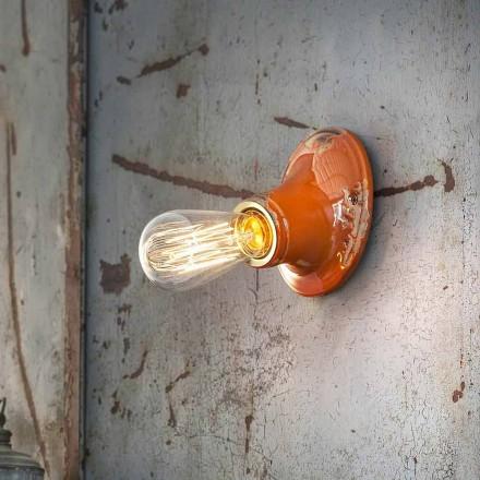 Ljuskrona tak craft retro design Ferroluce Tappning