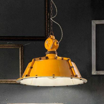 industriell stil ljuskrona tappning bell Jillian Ferroluce