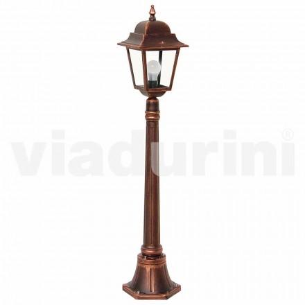 Utomhus låglampa tillverkad av aluminium, tillverkad i Italien, Aquilina