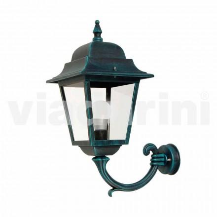 Trädgårdslampa med aluminium tillverkad i Italien, Aquilina