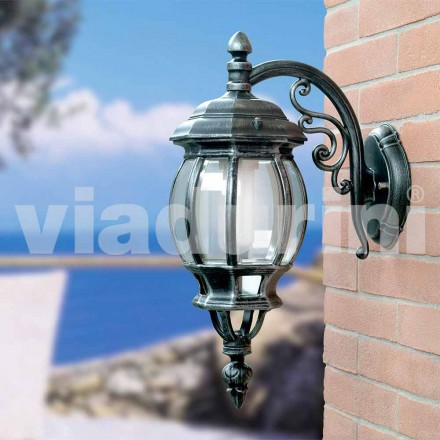 Trädgårdslampa med aluminium tillverkad i Italien, Anika