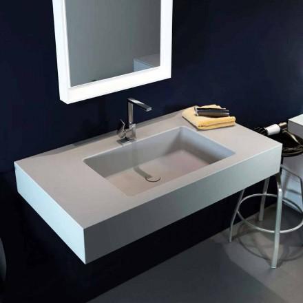 Design modernt hängehylla i Luxolid tillverkat 100% i Italien, Ruffano