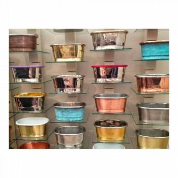 Sink utformning support koppar handgjorda Cala
