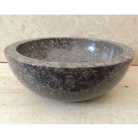 Levi grå natursten tvättställ, modern design