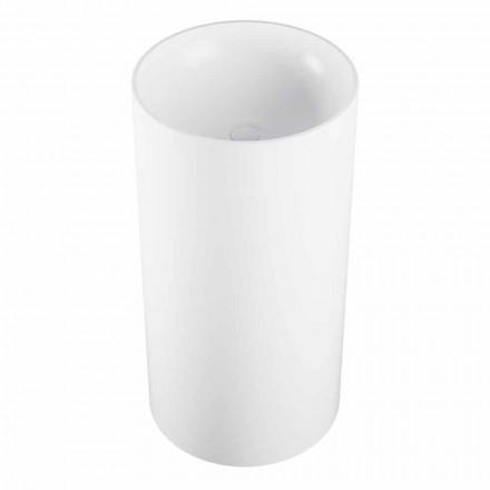 Cylindrisk fristående tvättställ tillverkad i Italien, Rumo
