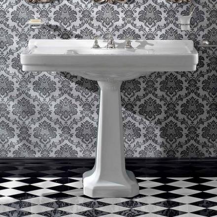 Konsol tvättställ på vintage kolonn i keramik tillverkad i Italien - Marwa