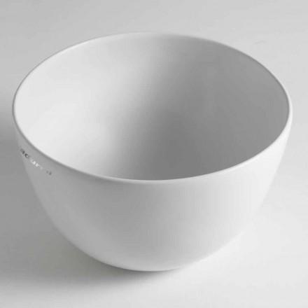 Domenico keramisk bänkskål Tvättställ Tillverkad i Italien
