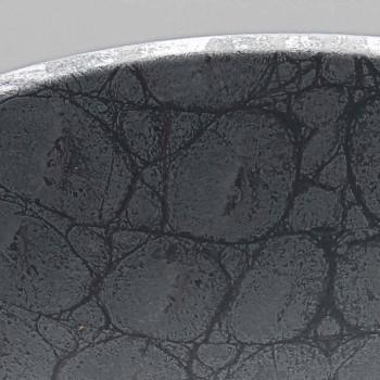 Bänkskivan i grön kokosnöt tryckt keramik gjord i Italien Glänsande