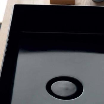 Handfat stöd modern svart keramisk Ikon Alice Keramik