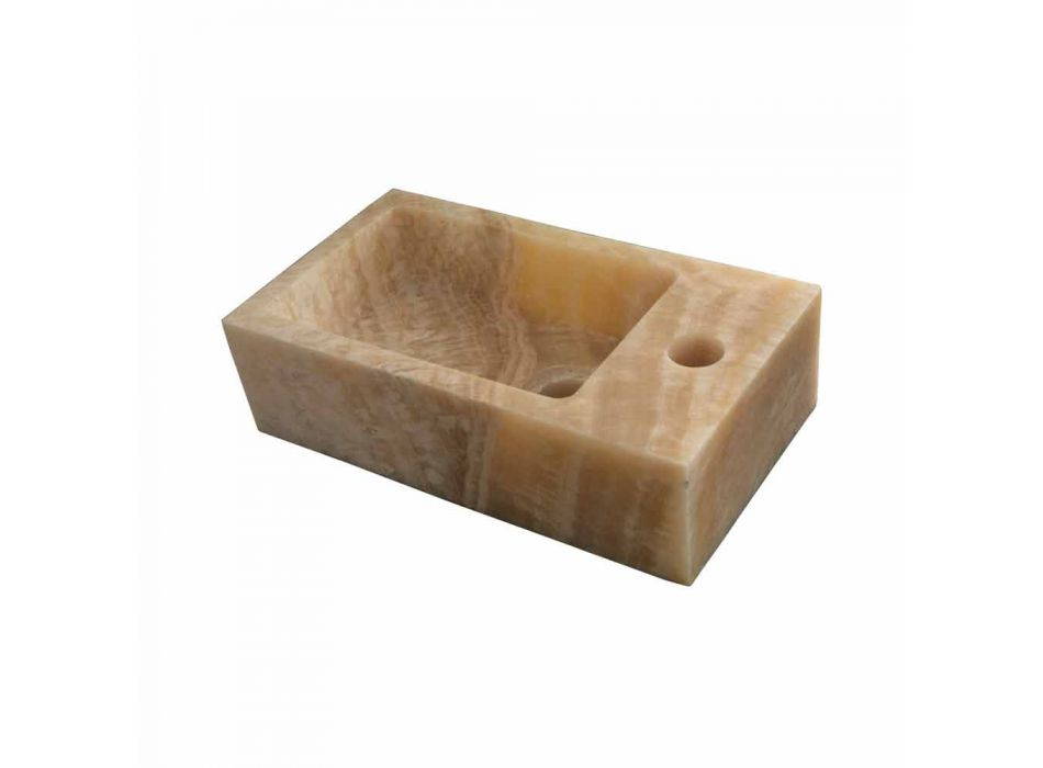 Stöd handfat Rektangulära Onyx Bintan