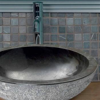 Tvättställ Stöd Rotondo Sten Natural Black Utanför Raw Pai