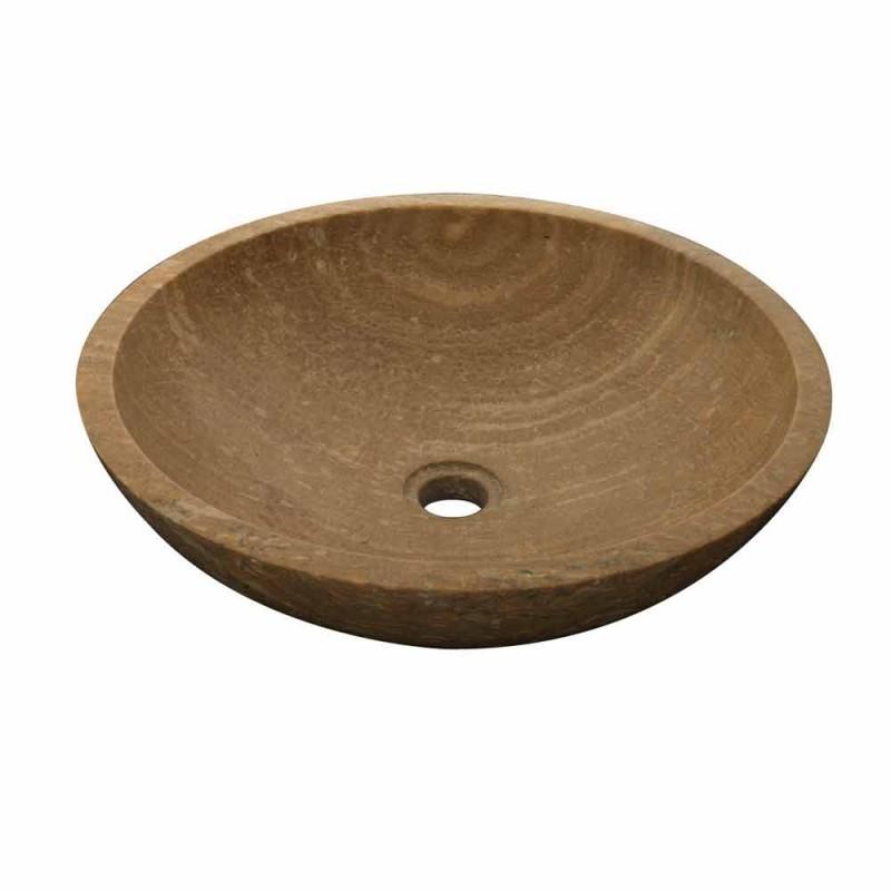 Handfat Support rund sten Natural Kari