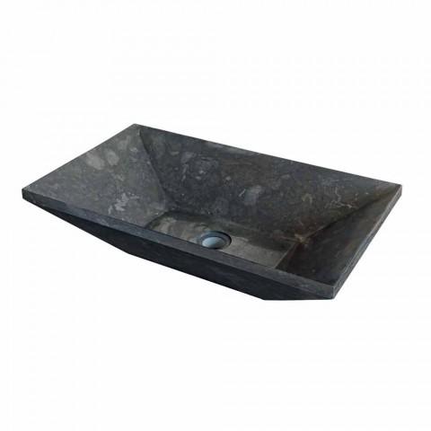 Tvättställ Stöd Keystone sten Natural Black Wok