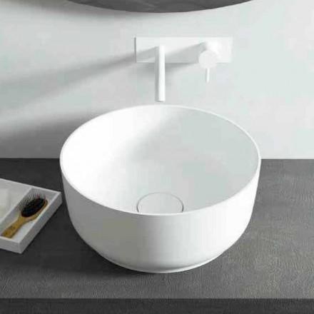 Runt bänkskål för modern design, tillverkad i Italien Dalmine