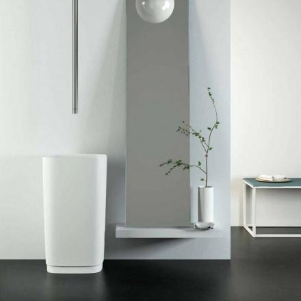 Design fristående cirkulär handfat tillverkad i Italien, Lallio