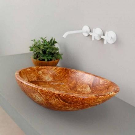 Design keramiska bänkskivan gjord i Italien Glänsande
