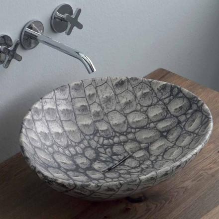 Design keramiska bänkskivan gjord i Italien Djur