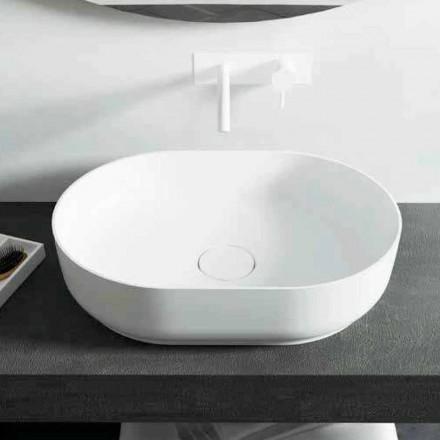 Design fristående handfat för badrum tillverkad i Italien Dalmine Medium