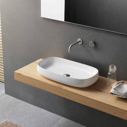 Tvättställ för bänkskivor i modern design tillverkad i Italien - Tune1