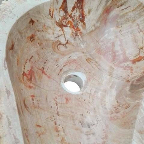Trä tvättställ Fossil Counter Goa enda stycke