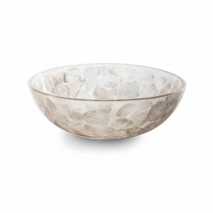 Tvättställ för bänkskiva med modern pärlemorfärg - Salvatore