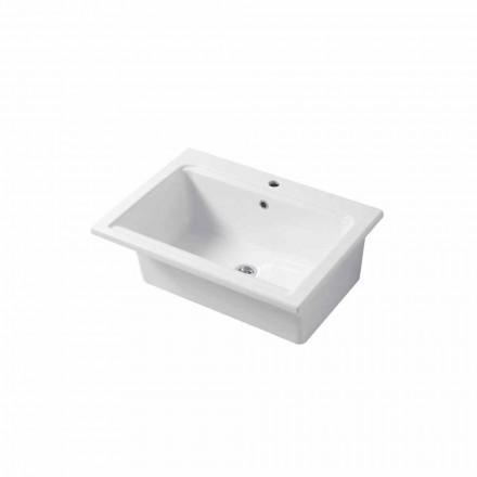 Modernt singelhål i vitt eller färgat keramiskt Panama