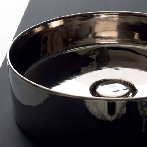 Runda handfat färgade keramiska lager Ikon Alice Keramik