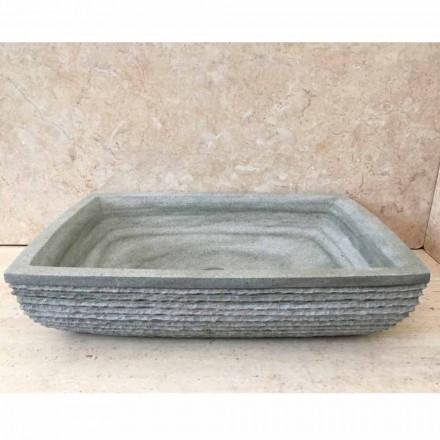 Design grön tvättstuga i Hilda sten