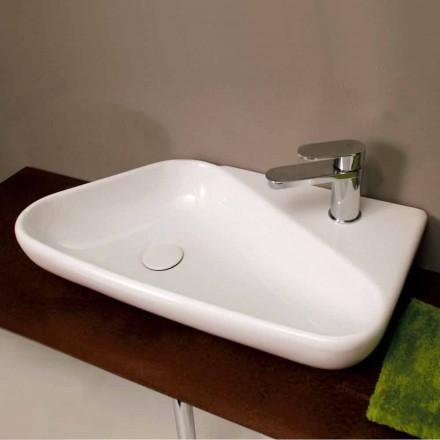 Countertop tvättställ / design keramik gjord i Italien Sheyla