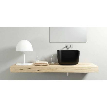 Handfat i modern design bänkskål tillverkade 100% i Italien, Lallio