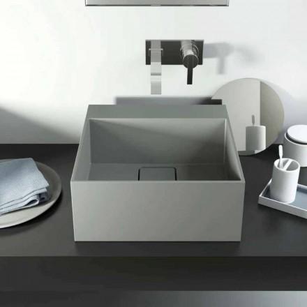 Handfat för modern design bänk tillverkas 100% i Italien, Lavis