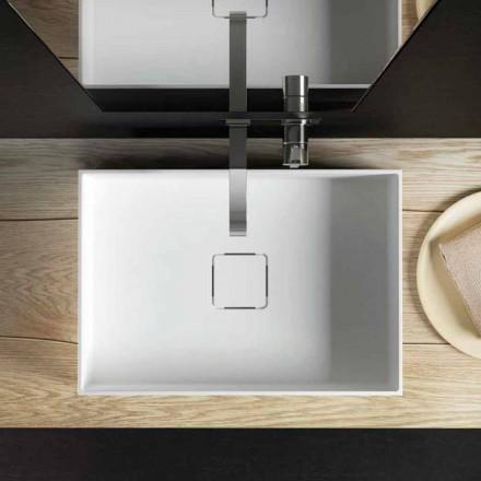 Diskbänk för modern design, producerad 100% i Italien, Lavis