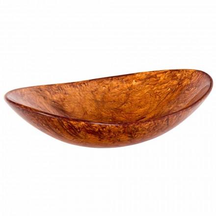 Handgjord bänkskål gjord i harts - Marentino
