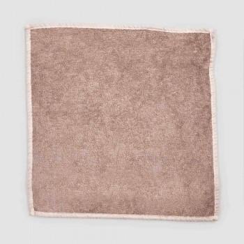 Badhandduk för gäster i frotté med blandad linne kant 6 stycken - kam