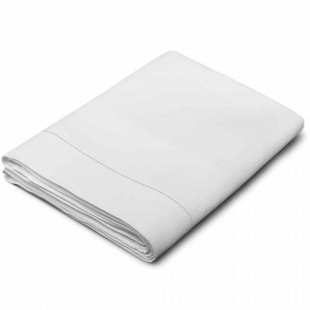 Rent linneark i vit kräm tillverkad i Italien - Chiana