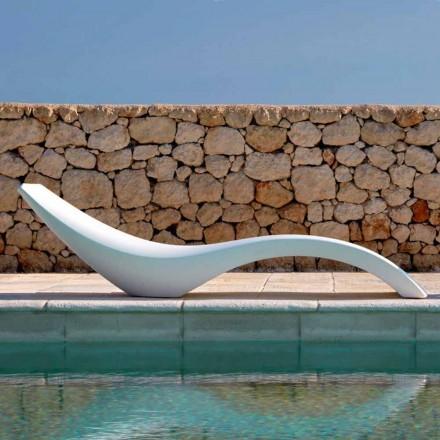 Modern design schäslong i färgad polyeten - Cloe av Myyour