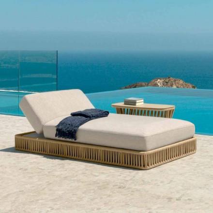 Cliff modern lounger av Talenti, design av Palomba