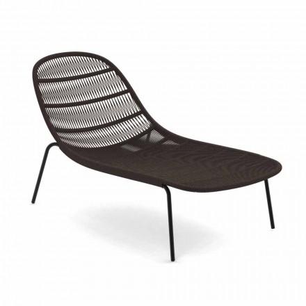 Stackable Design Garden Solstol i aluminium och tyg - Panama Talenti