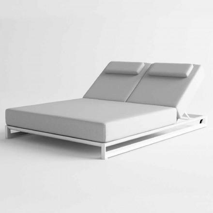 Solstol utomhus i aluminium och tyg - Gioacchino