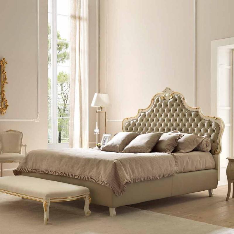 Dubbelsäng med förvaringsenhet, klassisk design, Chantal av Bolzan
