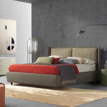 Dubbelsäng med bäddbehållare, modern design, Kate by Bolzan