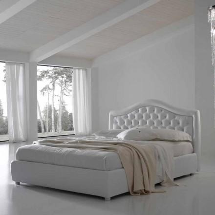 Dubbelsäng med behållare, klassisk design Capri av Bolzan