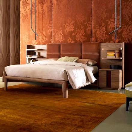 Grilli York gjorde Italien massivt trä stoppad dubbelsäng