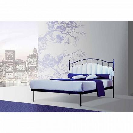 En säng och en halv Square smidesjärn Amethyst