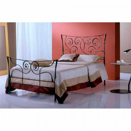 En säng och en halv Square smidesjärn Ares