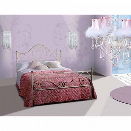 En säng och en halv Square smidesjärn Gea