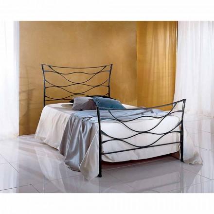 En säng och en halv Square smidesjärn Hydra