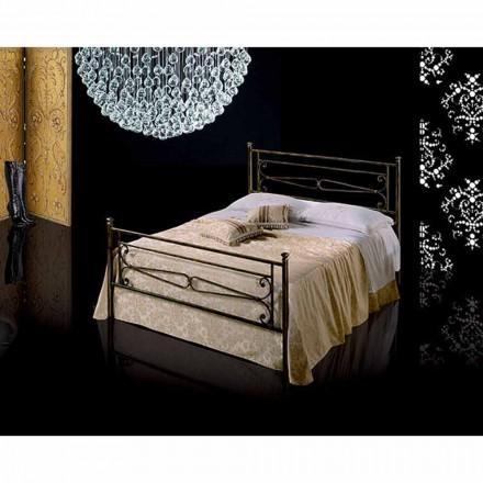 En säng och en halv Square smidesjärn Topaz